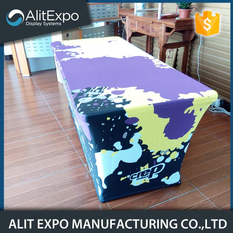 100% polyester fabric painting table covers, table runner
