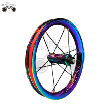 colorful 7075 rim 12H 12inch wheel set
