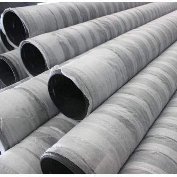 HDPE Black Perforated Corrugated Drip Pipe With Sock