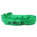 2T Load Capacity 100% Polyester Endless Round Sling