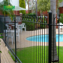 Dog proof wrought iron fence