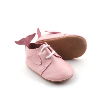 Attractive Design Fishtail Design Adorable Pink Oxford Shoes