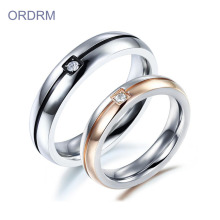 Cheap Wholesale Zirconia Couple Wedding Ring Sets
