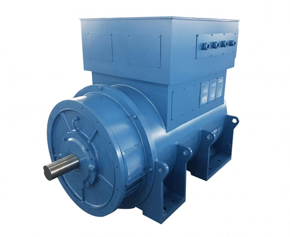 Blue Color High Voltage Three-Phase Generator