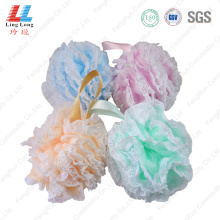 Lace luxury beautiful mesh bath ball