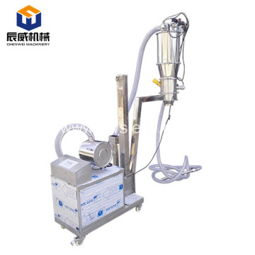 Mobile vacuum loader for loading small pellet