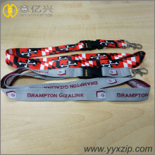 cheap custom design pouch braided neck lanyards