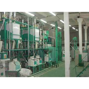 30-50 tons of wheat flour processing machinery