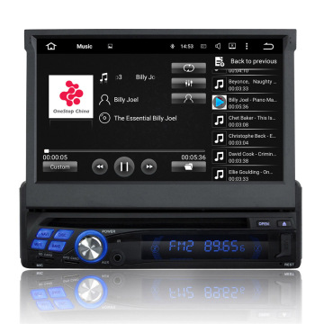 7 Inch single din Car dvd Player universale