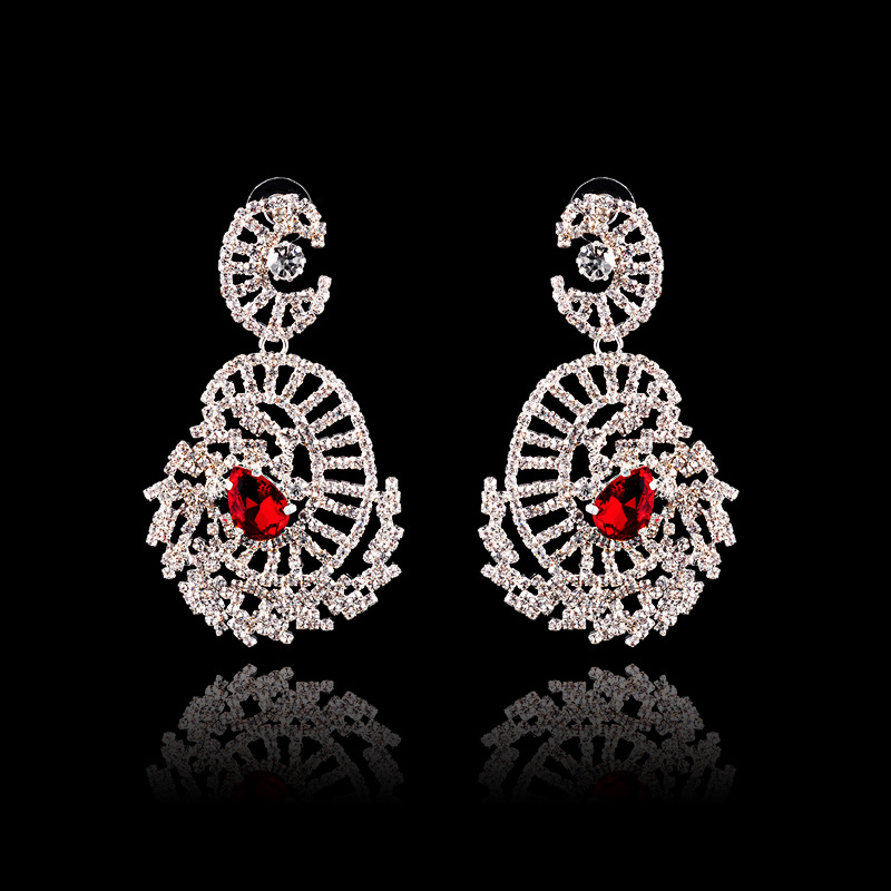 New Fashion Drop Water Rhinestone Earring