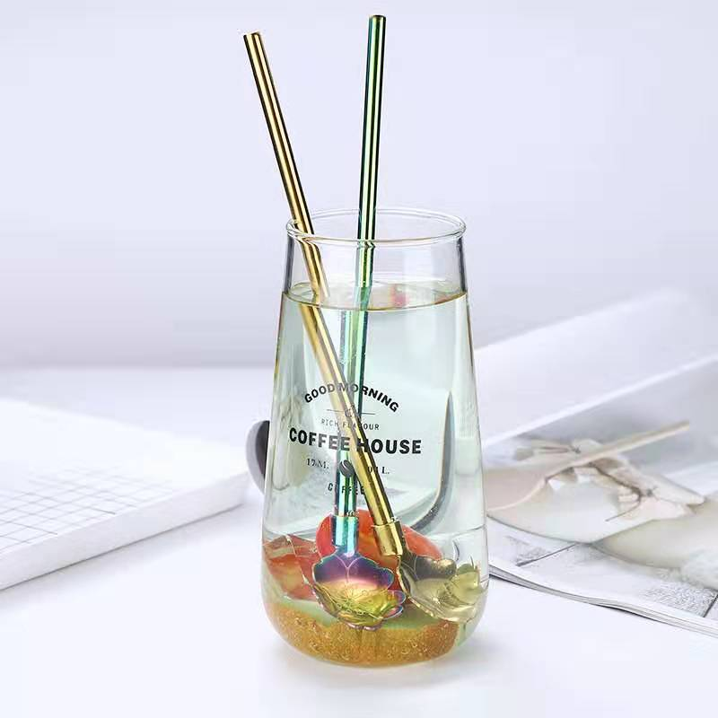 18/10 Graceful Stainless Steel Straw Spoon