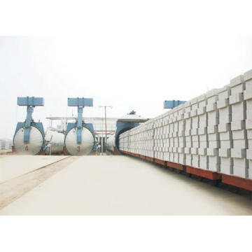 Aerated Autoclaved Concrete AAC Block Manufacturing Plant