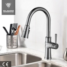 Designer Pulldown Sprayer Single Lever Kitchen Tap Faucets