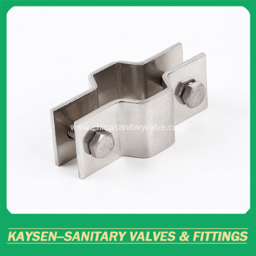 Sanitary Hexagon pipe fitting pipe holders