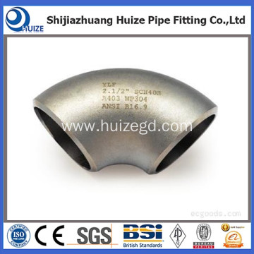 90 degree 316L stainless steel elbow