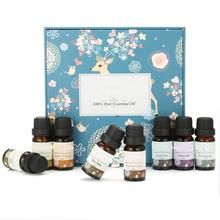 100% Pure Aromatherapy Essential Oil Set 8pack