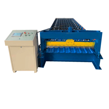 Galvanized Trapezoidal profile roll forming making machine