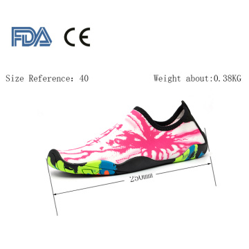 Customized non-slip water socks shoes