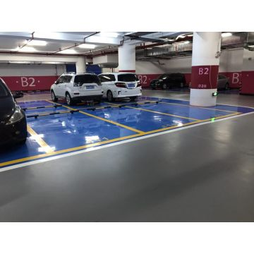 For parking lot scratch-resistant floor coating