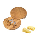 Cheese Board Cutting Set with 4 Cheese Knives