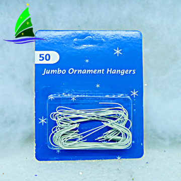 Factory price cute durable Christmas jumbo ornament hangers