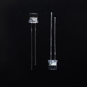 5mm Flashing Blue LED Flat Top Clear Lens