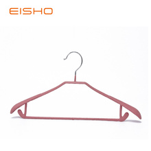 Good Quality for Metal Coat Hangers,Pvc Coated Hangers,Gold Metal Hangers Manufacturer in China EISHO PVC Plastic Coated Metal Hangers export to United States Factories