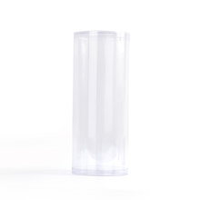 plastic clear PVC PET PP custom clear round cylinder tube packaging