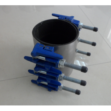 Stalnless steel single double repair clamp