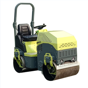 Good compact effect diesel ride-on road paving machine