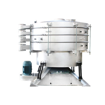 High precision circular swing tumbler screener chemical