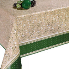 Pvc Printed fitted table covers Table Linens Direct