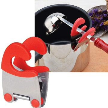 Spoon Pot Clip Handy Spoon Holder for Kitchen