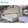 Cold storage room insulation panels