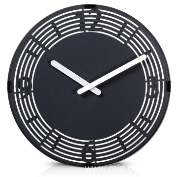 Leading for Round Wall Clock Living room decorative wall clock with numbers export to Italy Suppliers