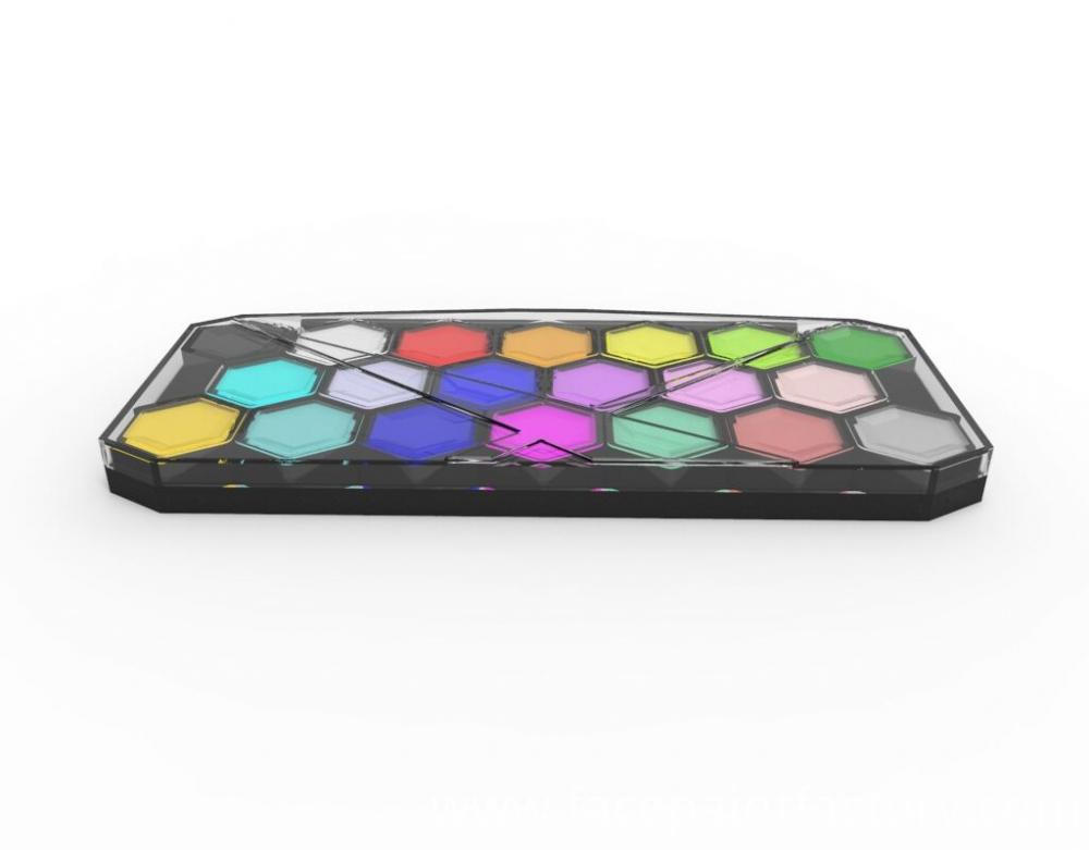face paint palette