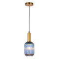 Modern design indoor lighting glass lampshade hanging light