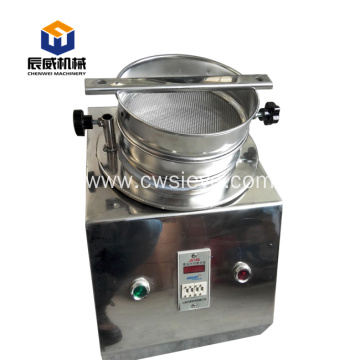 stainless steel laboratory testing screen equipment
