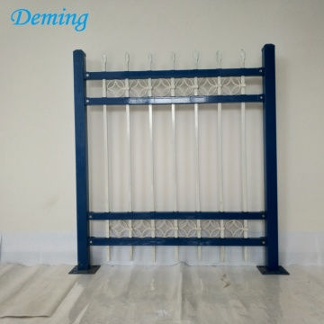 Factory Wrought Iron Forged Steel Fence for Sell
