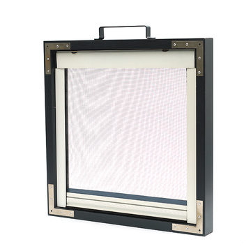 Retractable Screen window with aluminum frame