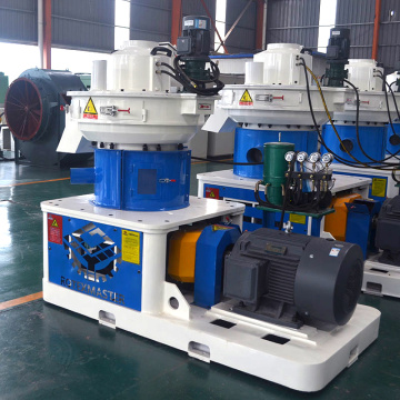 Vertically mounted ring die pellet mill