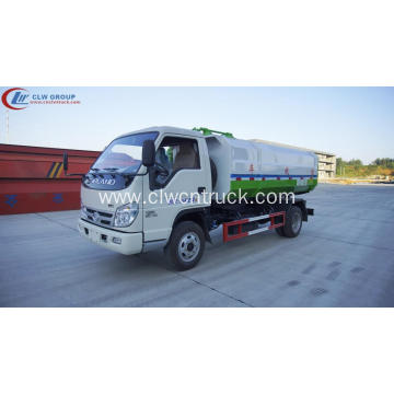 2019 Hot deal FOTON 3cbm bin hook truck