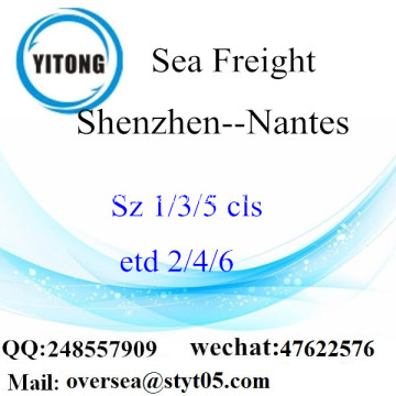 Shenzhen Port LCL Consolidation To Nantes