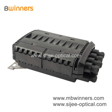 Waterproof 288 Core Fiber Optical Joint Closure Fiber Optic Splice Cable Closure