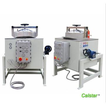 Waste solvent disposal machines