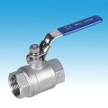 stainless steel SS304 SS316 one piece screwed BSP ball valve