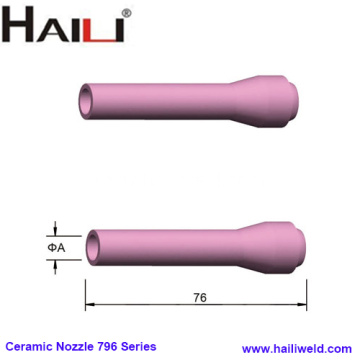 TIG Torch Ceramic Nozzle 796 Series