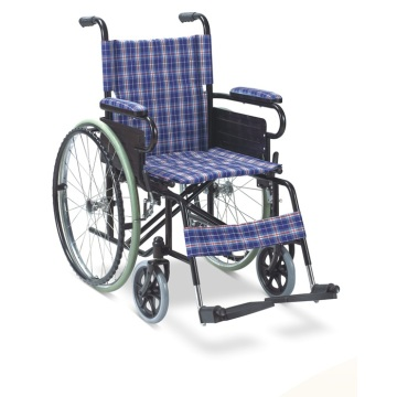 Cheap Hospital Home Conveniente silla de ruedas plegable