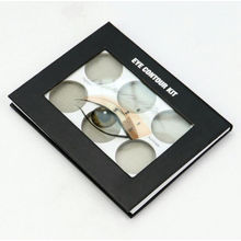 Special Paper Cover Cosmetic Eyeshadow Box with Window