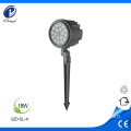 Multicolor RGB Led Garden Light 18W Spike IP65